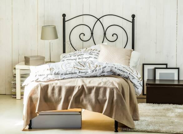 łóżko Metalowe Jednoosobowe Bea Jeden Szczyt