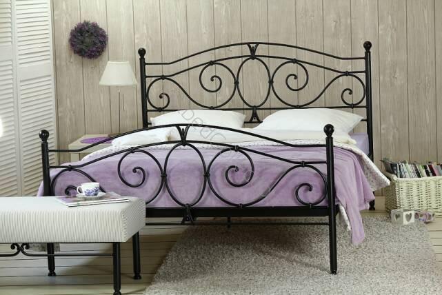 Zestaw Bestseler łóżko Metalowe Sylvia Dwuosobowe Dwa